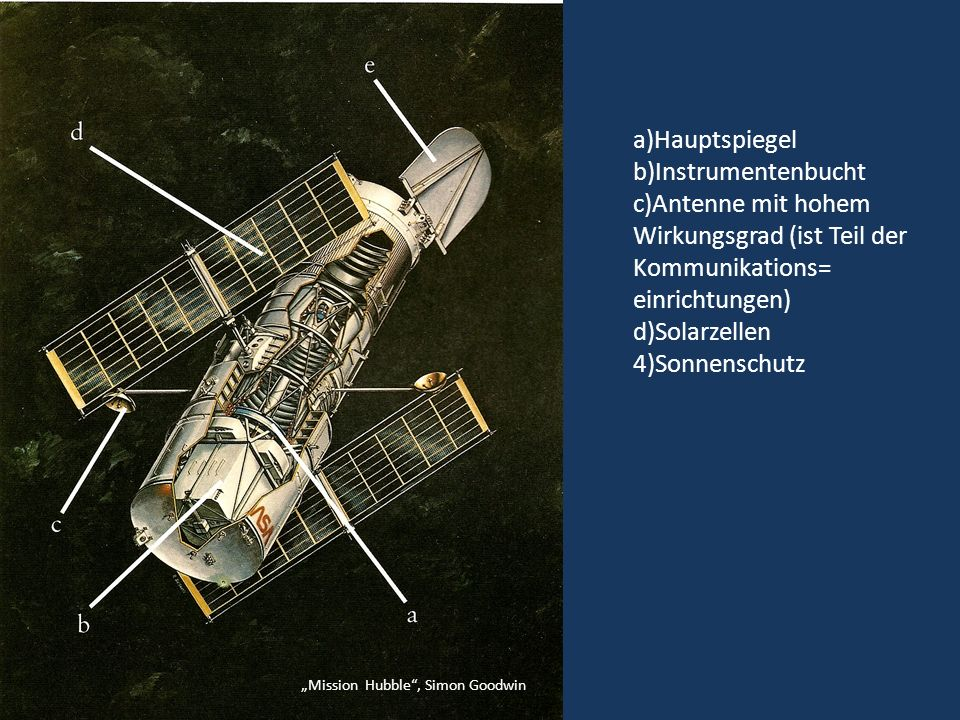 http://hubble.nasa.gov/technology/optics.php Strahlengang durch das Hubble Teleskop