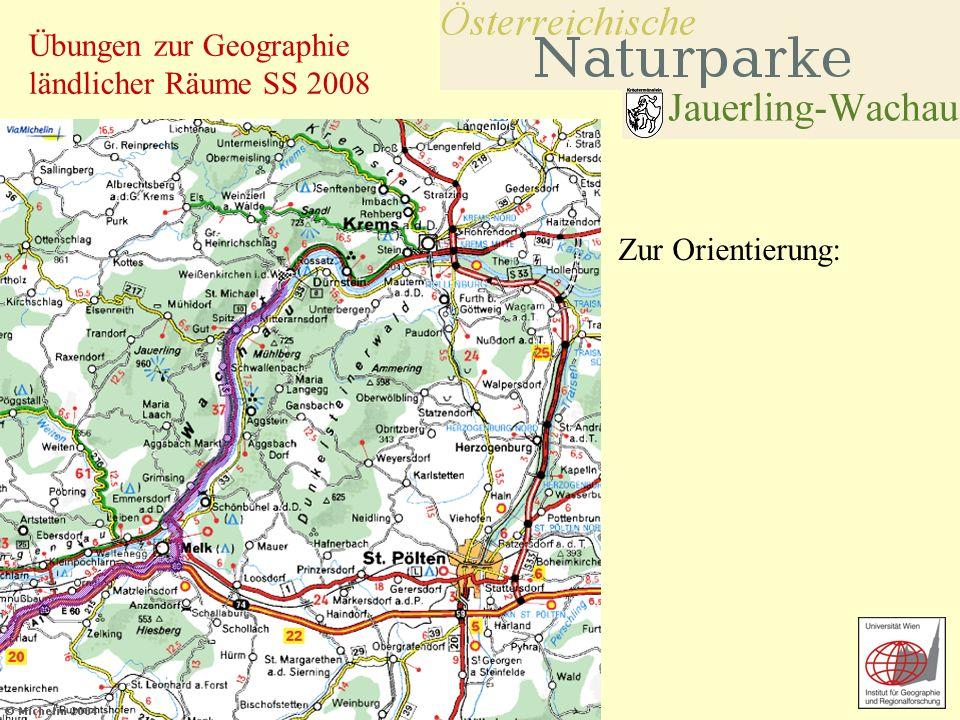 Übungen zur Geographie ländlicher Räume SS 2008 Zur Orientierung: