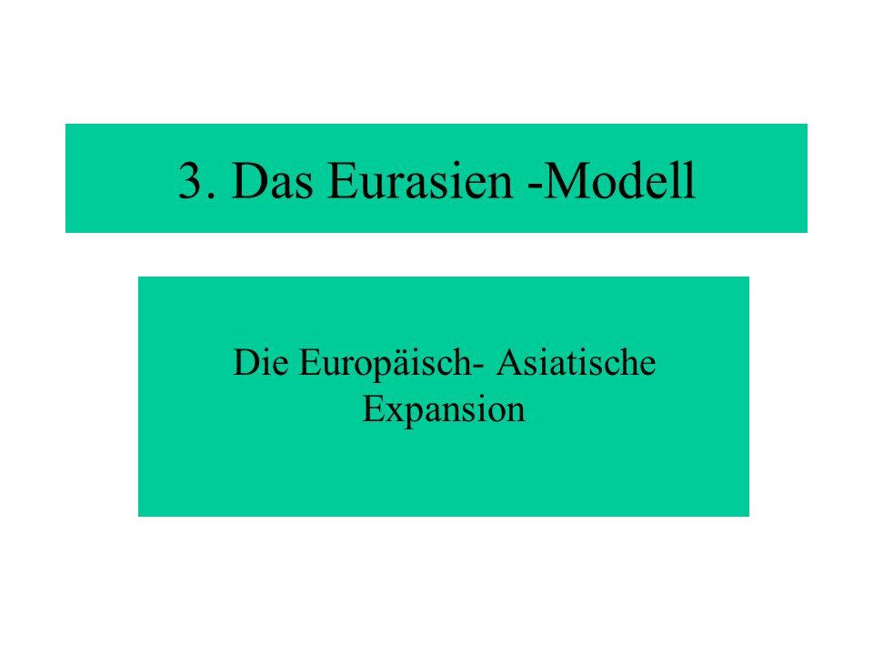 Die Europäisch- Asiatische Expansion 3. Das Eurasien -Modell