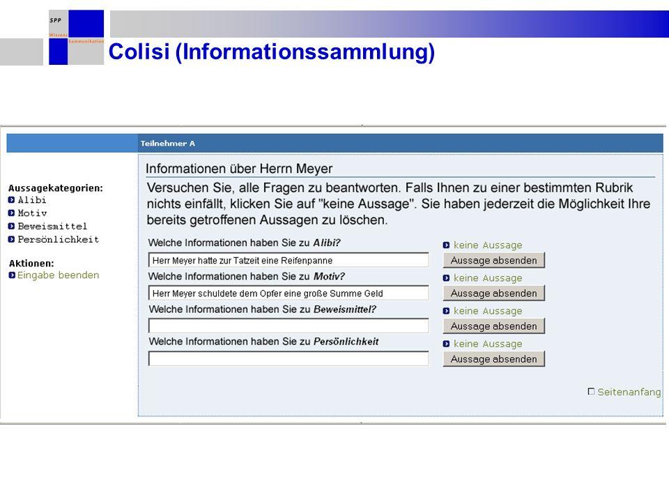 Colisi (Informationssammlung)