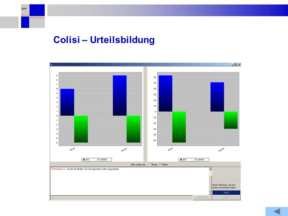 Colisi – Urteilsbildung