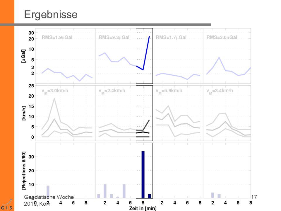 Ergebnisse Geodätische Woche 2010, Köln 17