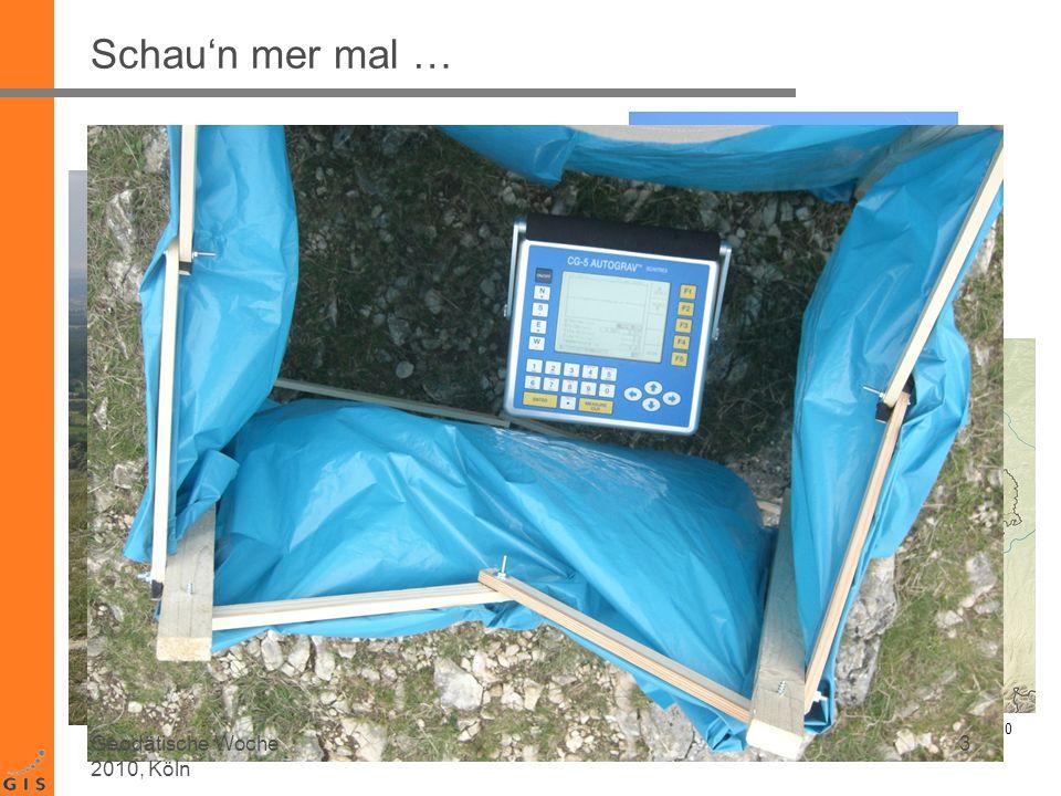 Testaufbau Messdauer: ~ 9 min pro Aufstellung Messfrequenz: 1/60 Hz = 60s 14