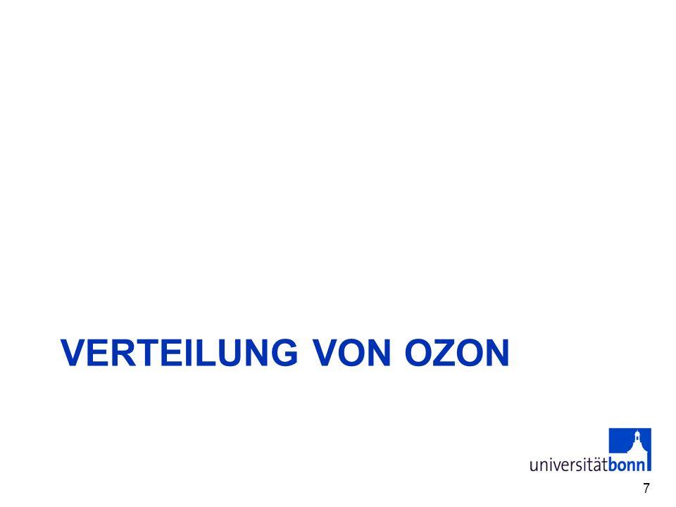 VERTEILUNG VON OZON 7