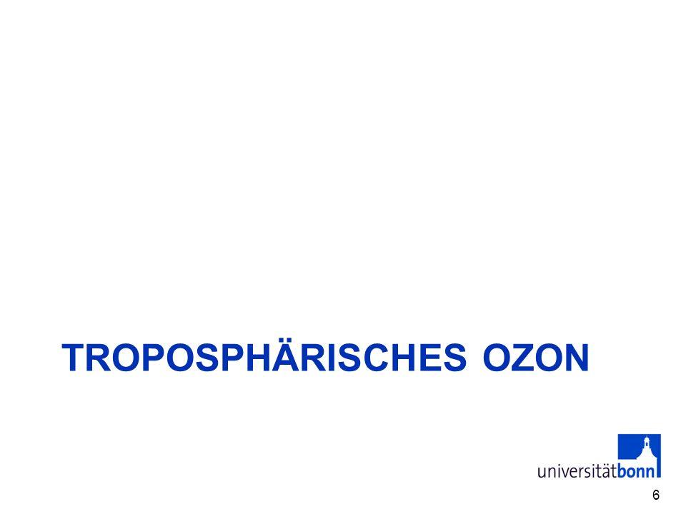 TROPOSPHÄRISCHES OZON 6