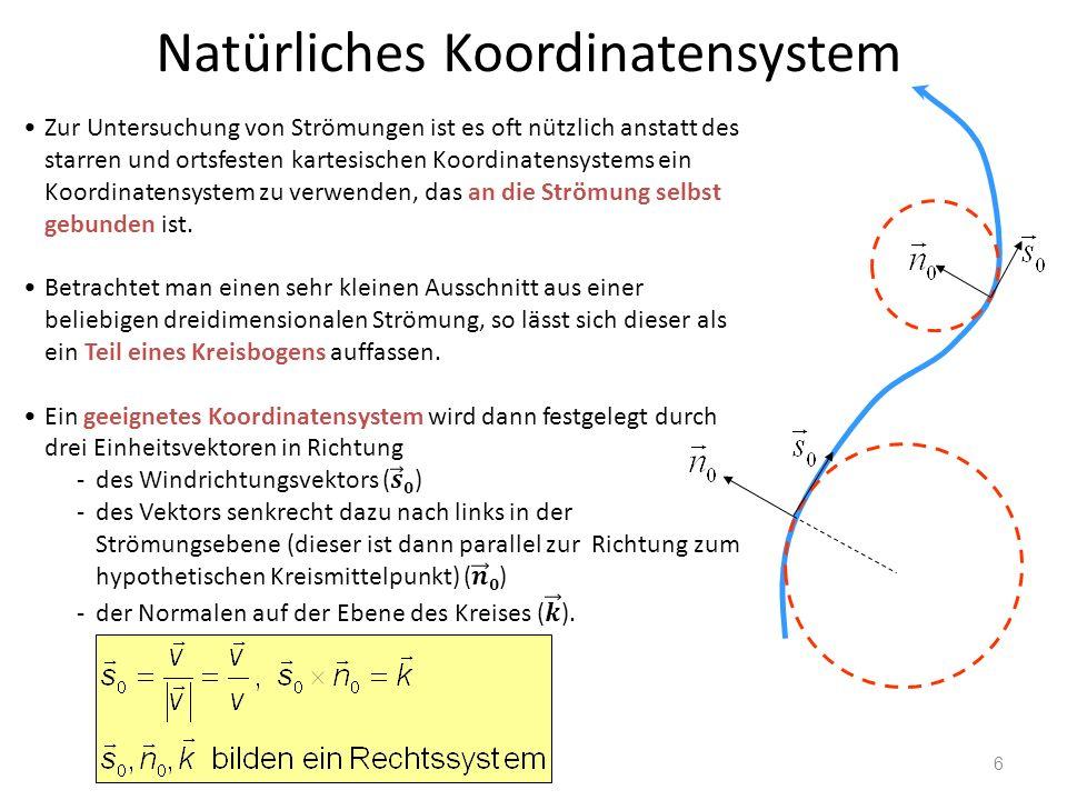 6 Natürliches Koordinatensystem