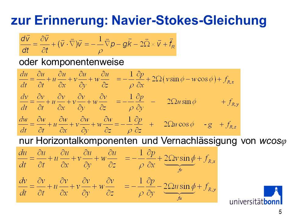 6 Horizontale Bewegungsgleichung im natürlichen Koordinatensystem natürliches Koordinaten- system … mit Produktregel