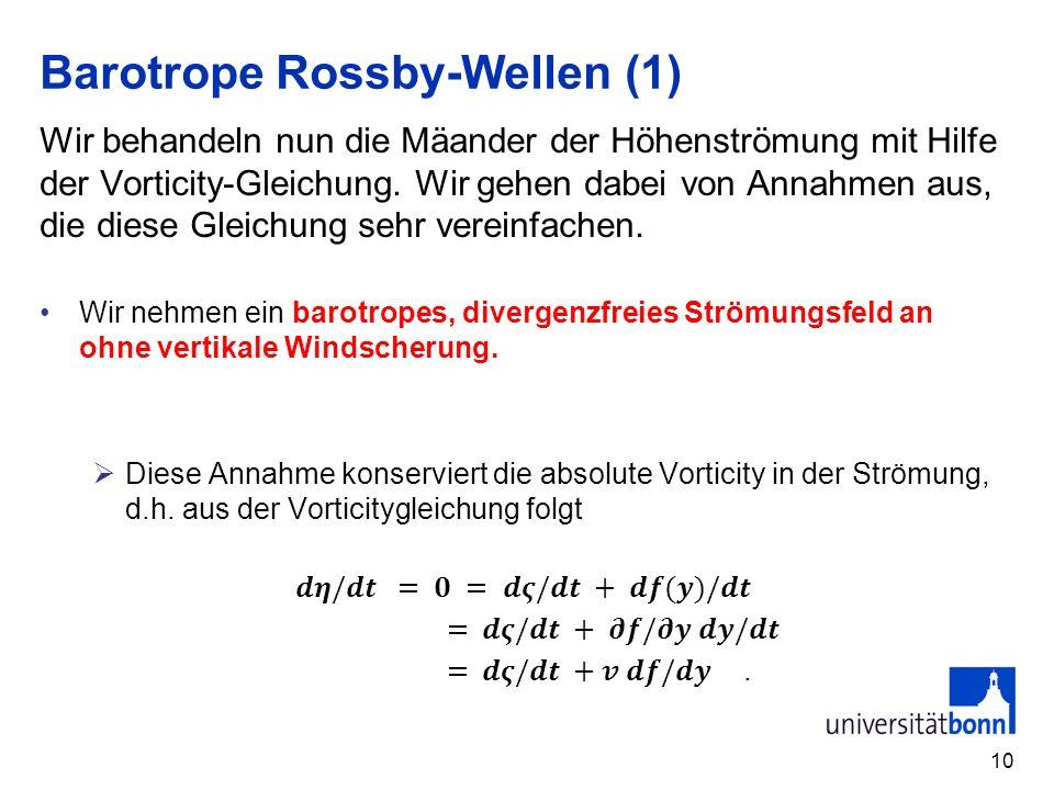 10 Barotrope Rossby-Wellen (1)