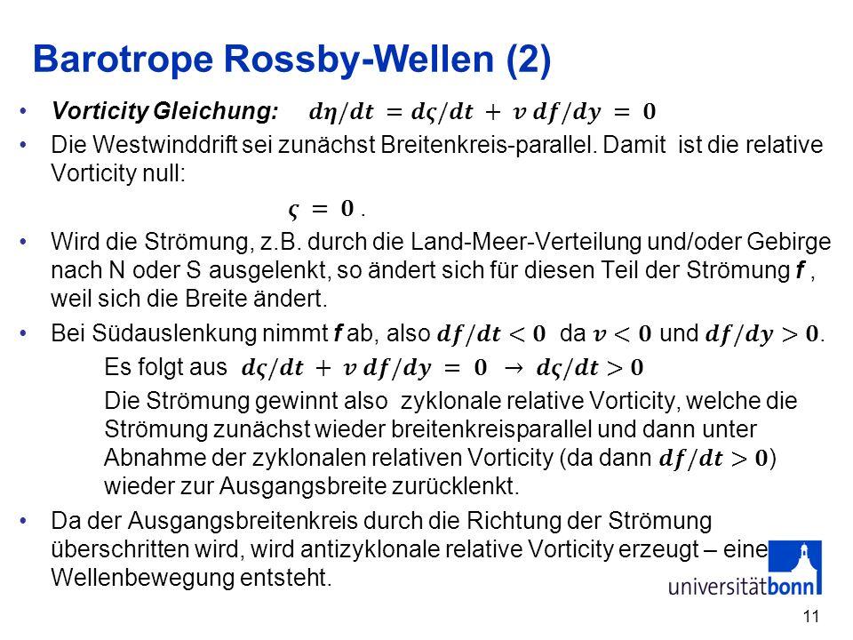 11 Barotrope Rossby-Wellen (2)