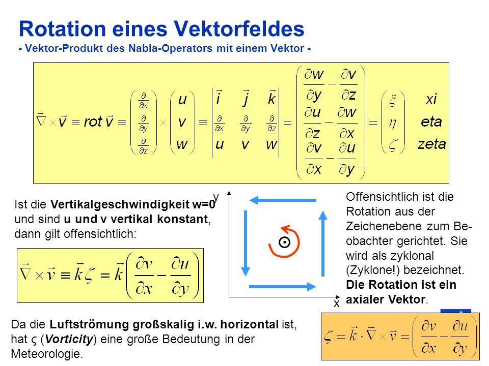 16 Krümmungs- und Scherungsvorticity (a) Δ Das natürliche Koordinatensystem erlaubt eine formale Trennung zwischen Krümmungs- und Scherungsvorticity.