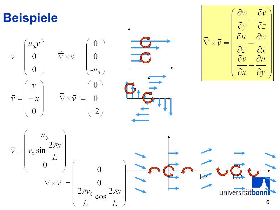 7 Absolute und Relative Geschwindigkeit Durch die Erdrotation haben auch auf der Erde ruhende Gegenstände in einem System, das z.B.
