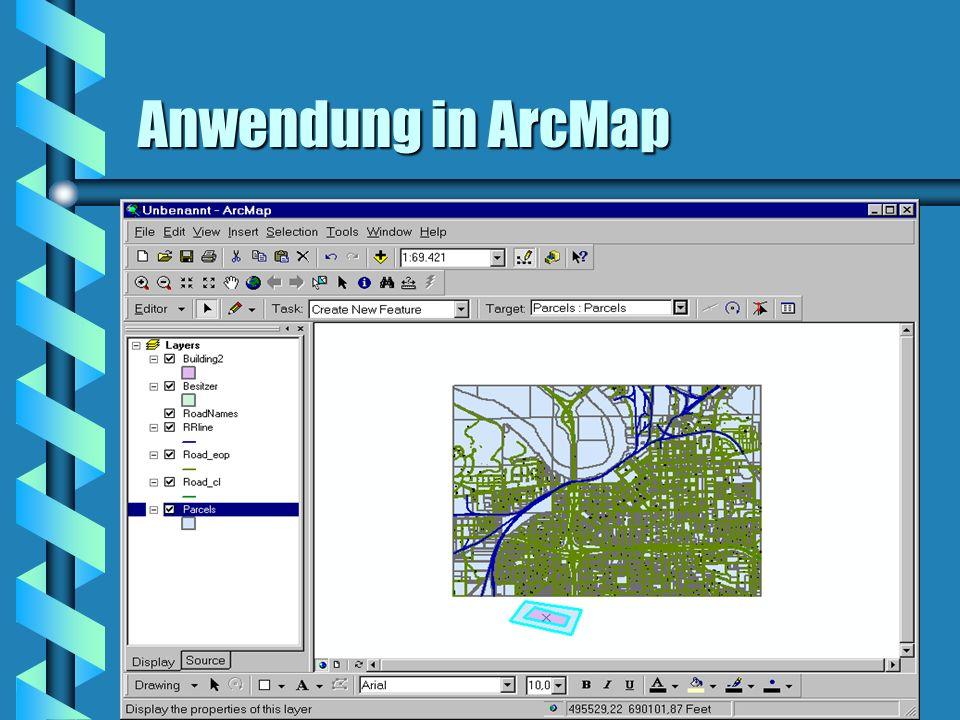 Anwendung in ArcMap