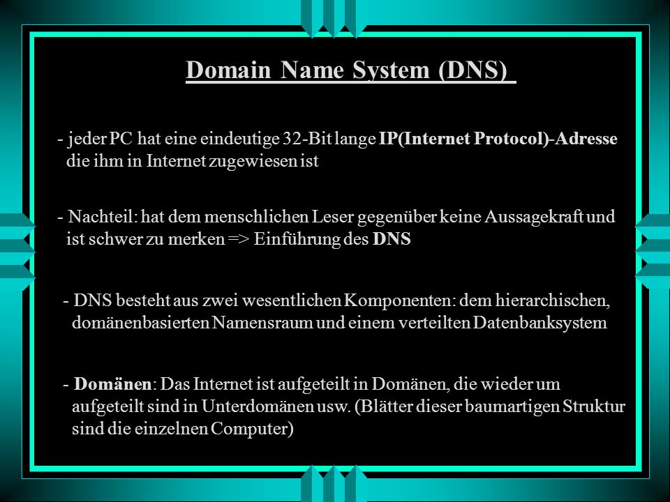 Wir betrachten also jetzt das Internet als eine Struktur von physikalischen Netzwerken und Routern, die die Verbindungen herstellen.