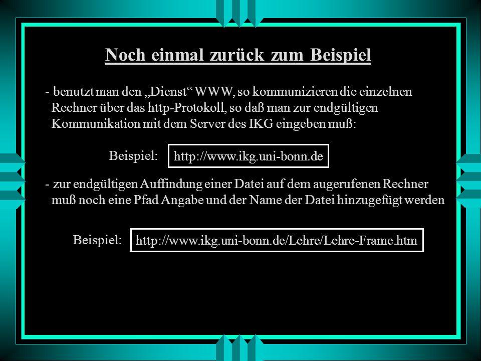 Proxy Server Rechner in einem lokalen Netz, der bereits aus dem Internet abgerufene Web-Seiten zwischenspeichert. Greift man auf das Internet zu, so s