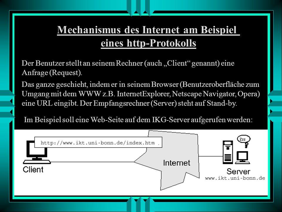 Persistant URL (PURL) Die PURL verweist nicht direkt auf eine Internetstelle, sondern auf einen zwischengeschalteten Dienst. Dieser sucht die entsprec