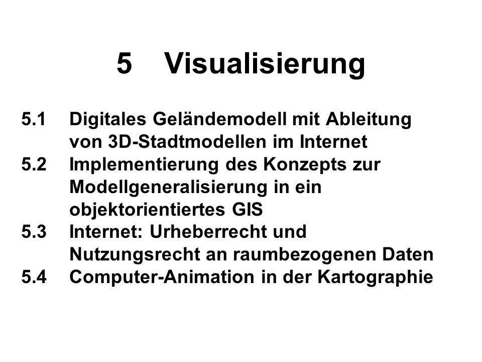 6Bildschirmkarten: Descartes (GMD) 6.1Bildschirmkarten für das Internet: Technische Grundlagen von Descartes 6.2Interaktive Karten zur Visualisierung statistischer Daten