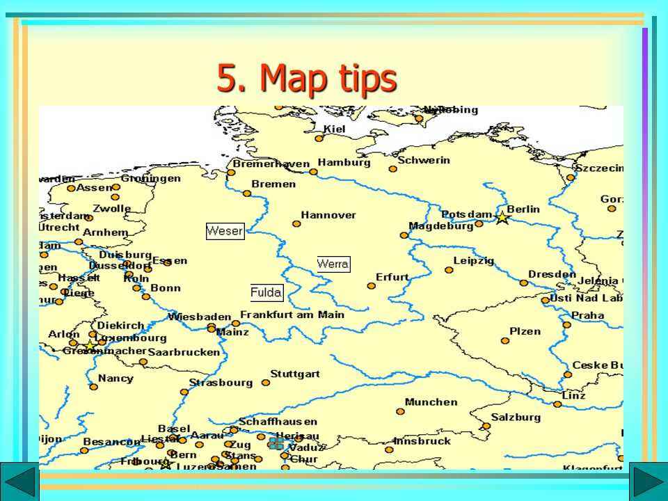 5. Map tips