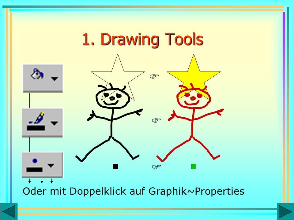 Oder mit Doppelklick auf Graphik~Properties