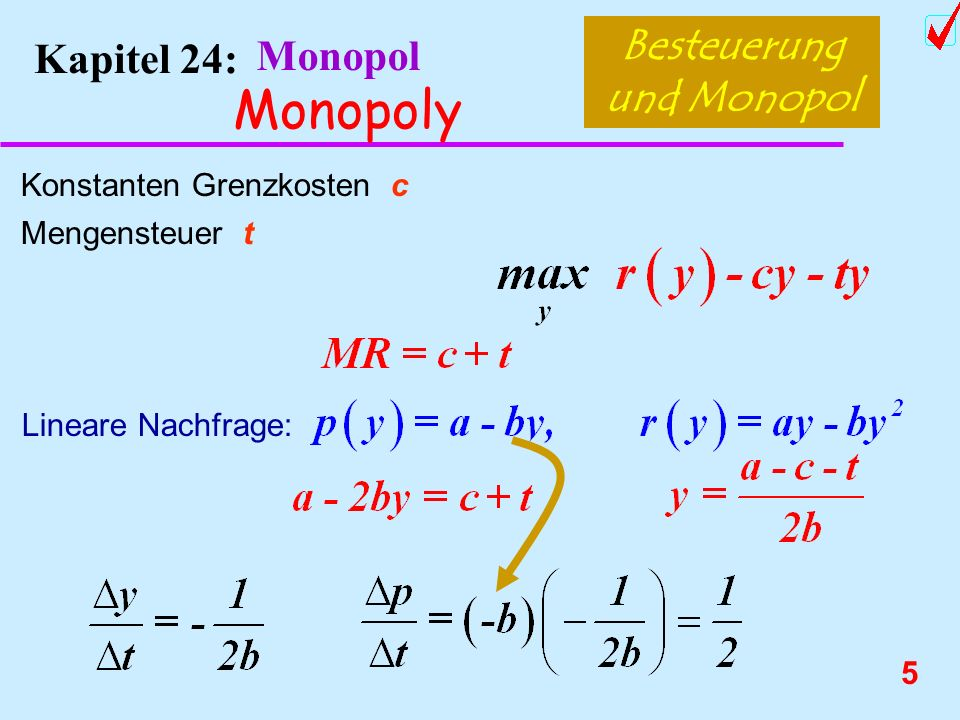 4 Kapitel 24: Monopol Monopoly Beispiel