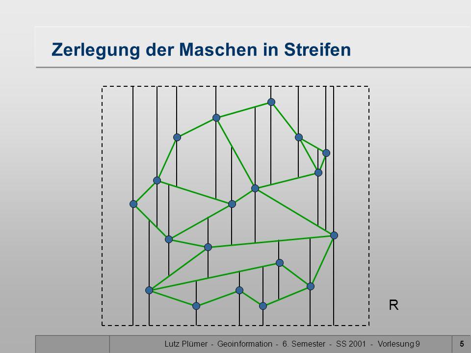 Lutz Plümer - Geoinformation - 6. Semester - SS 2001 - Vorlesung 916 Rechtecke B DG J F C I E H A