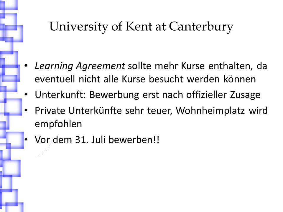 University of Sunderland http://www.sunderland.ac.uk/ 4 x 1 Semester 1.