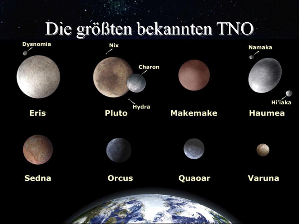 Die größten bekannten TNO