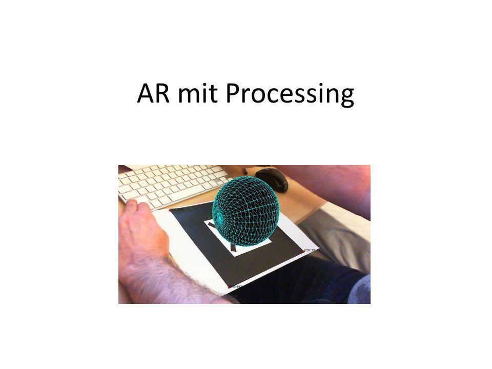 AR mit Processing