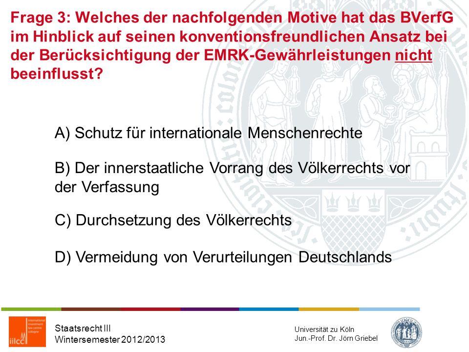 Frage 2: Ein deutsches Guantanamo (willkürliche Einsperrung von gegnerischen Kämpfern/Terrorismusverdächtigen ohne Gerichtsverfahren) wäre verfassungs