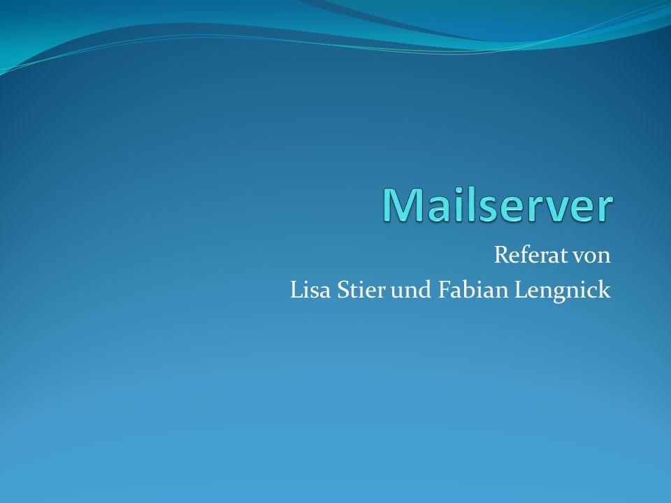 Referat von Lisa Stier und Fabian Lengnick