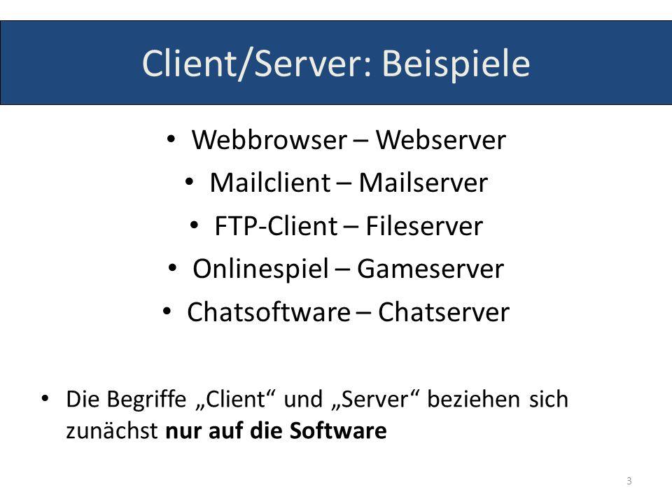 Server (Software) Apache (Webserver) Samba, ProFTPd (Dateiserver) Mercury, MS Exchange (Mailserver) PHPOpenChat (Chatserver) 4