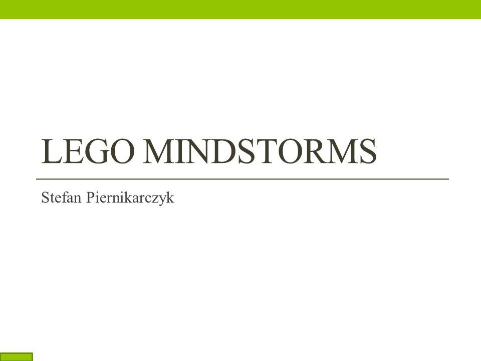 LEGO MINDSTORMS Stefan Piernikarczyk