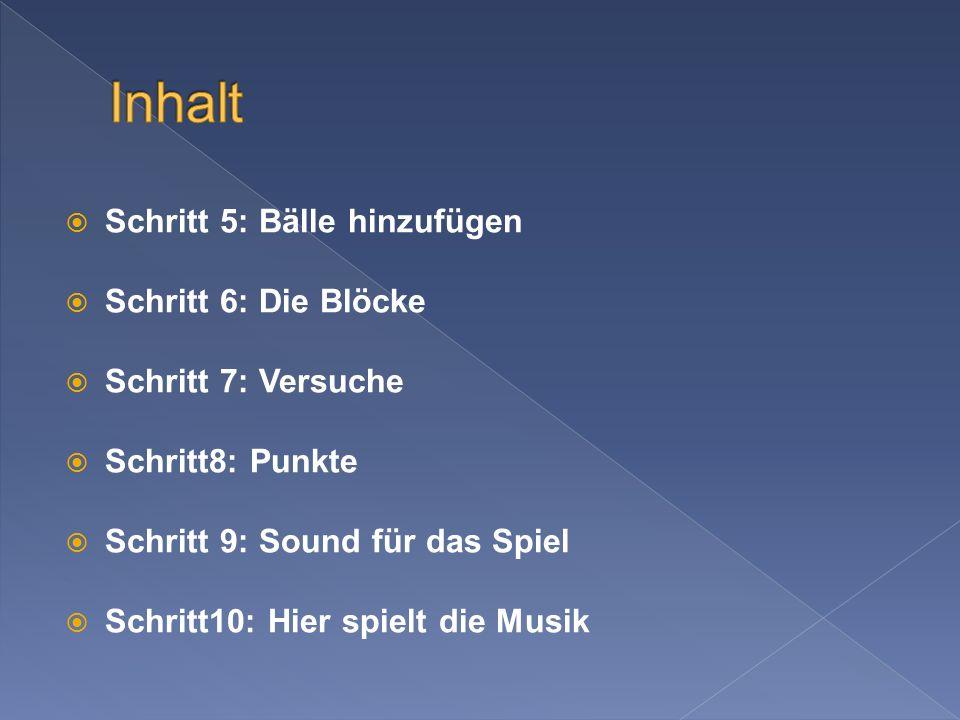 Geladen und abgespielt wird sie in CBreakanoid::Load // Musik laden und gleich abspielen m_pMusic = new tbMusic; if(m_pMusic->Init( Data\\Music.mp3 )) { // Fehler.