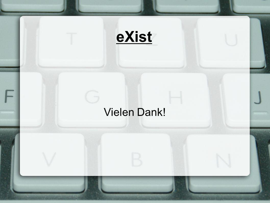 eXist Vielen Dank!