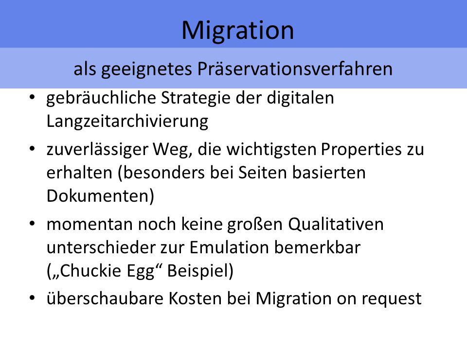 Aufklärung über Schwierigkeiten Migration Verlust von Formatierung oder look and feel z.