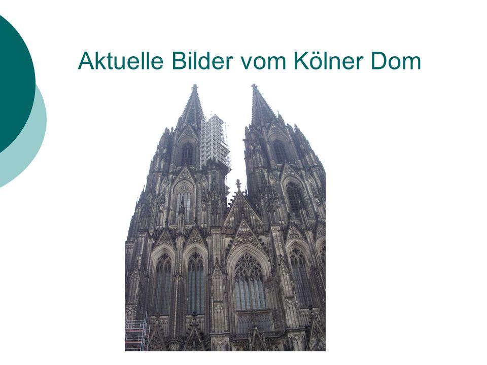 Aktuelle Bilder vom Kölner Dom