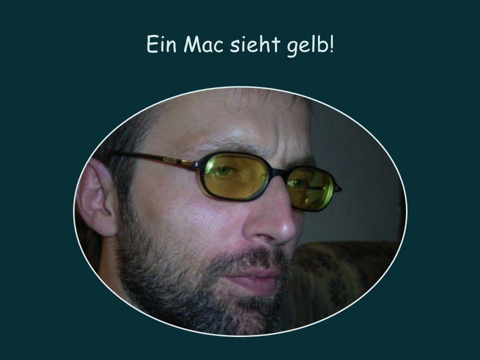 Ein Mac sieht gelb!