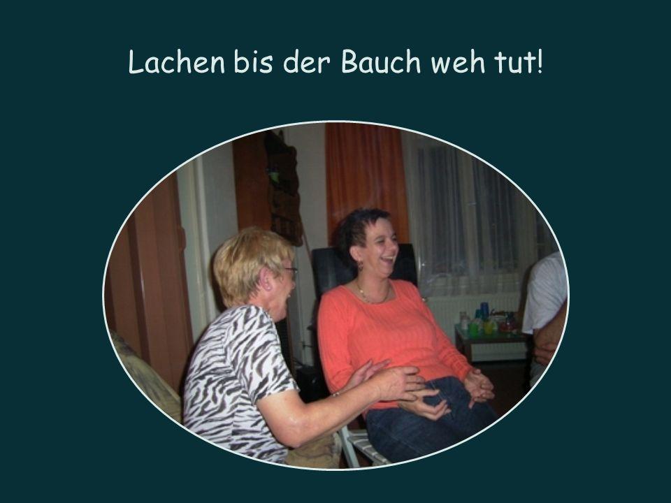 Lachen bis der Bauch weh tut!