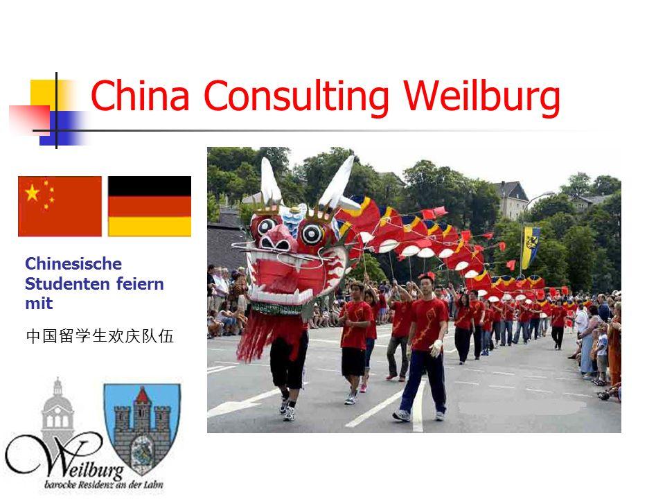 China Consulting Weilburg Chinesische Studenten feiern mit