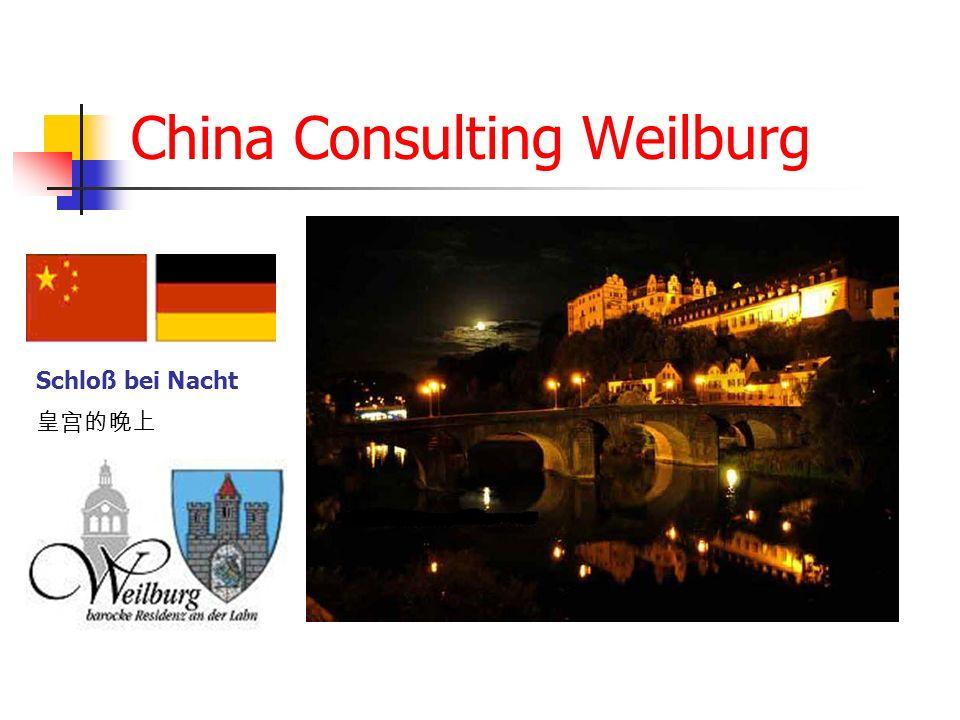 China Consulting Weilburg Schloß bei Nacht