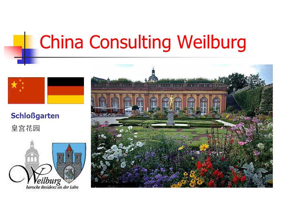 China Consulting Weilburg Schloßgarten