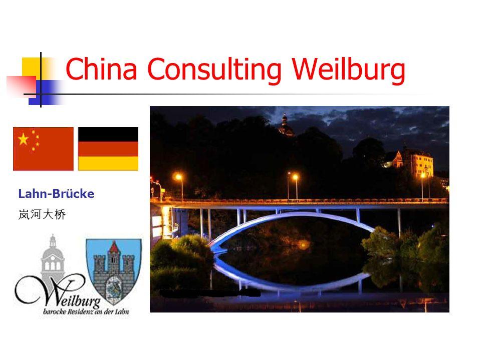 China Consulting Weilburg Lahn-Brücke