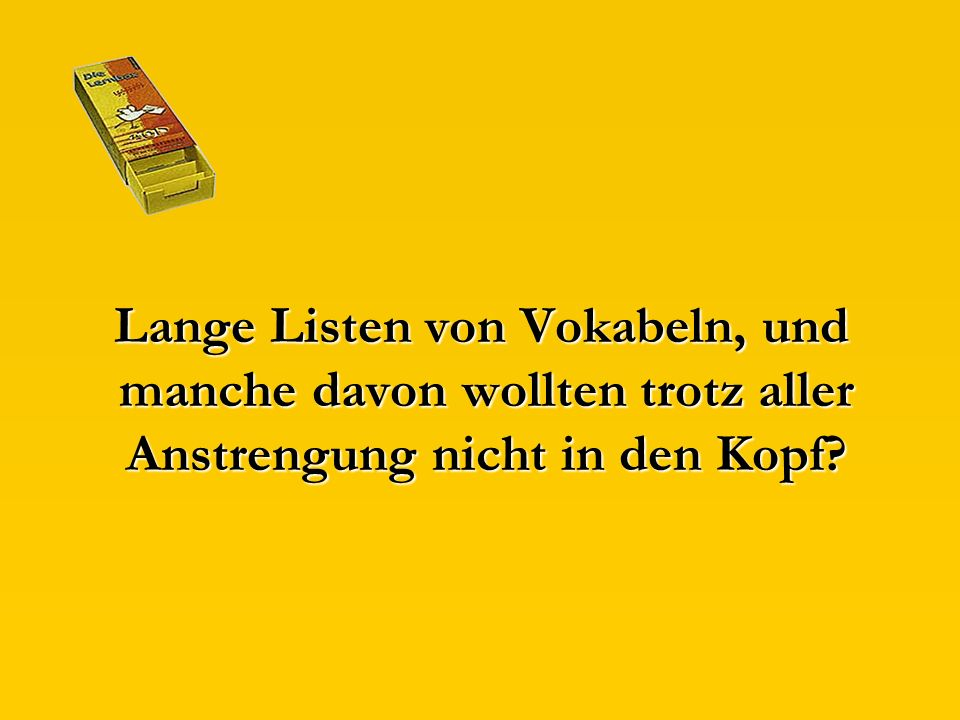 Mal was anderes:
