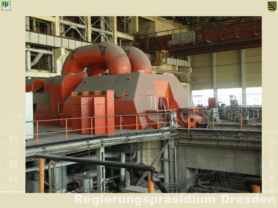 Ort: Kraftwerk Boxberg (alt): Sicherung einer Fernwärmeleitung Inhalt der Handlungeneingesetzte Kräfte 1 Durch Einwirkungen des Orkans und dabei zerstörter Gebäude ist eine Fernwärmeleitung (Hochverbau) einsturzgefährdet.
