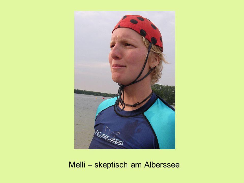 Melli – skeptisch am Alberssee