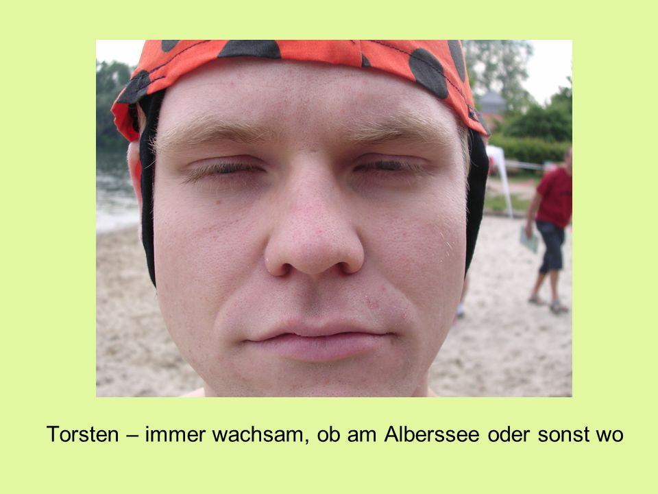 Torsten – immer wachsam, ob am Alberssee oder sonst wo