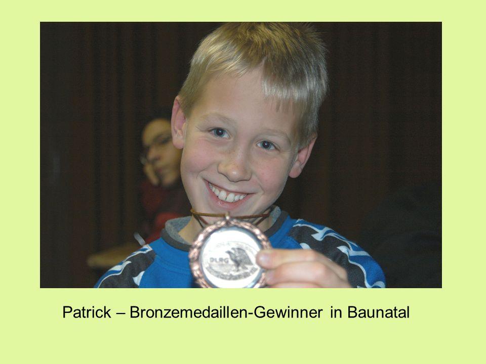 Patrick – Bronzemedaillen-Gewinner in Baunatal
