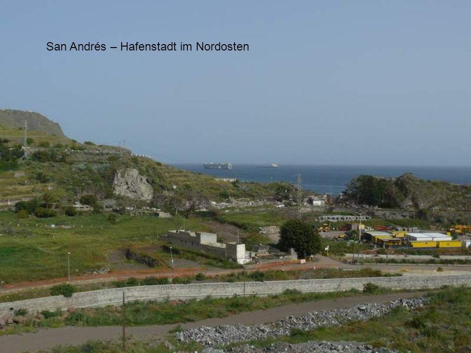 San Andrés – Hafenstadt im Nordosten