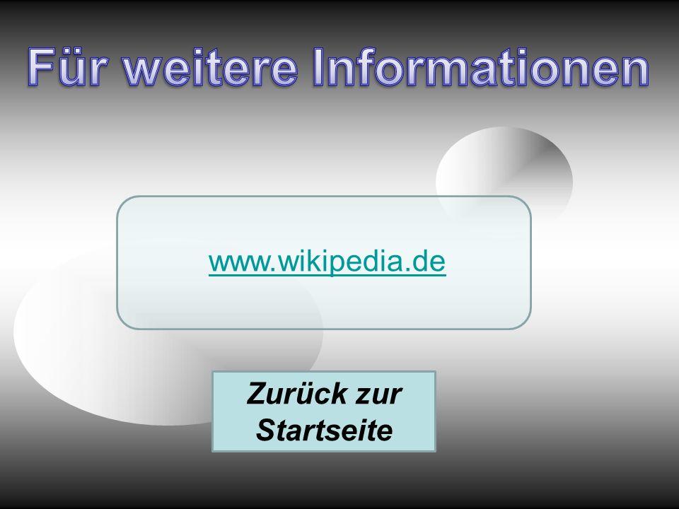 www.wikipedia.de Zurück zur Startseite