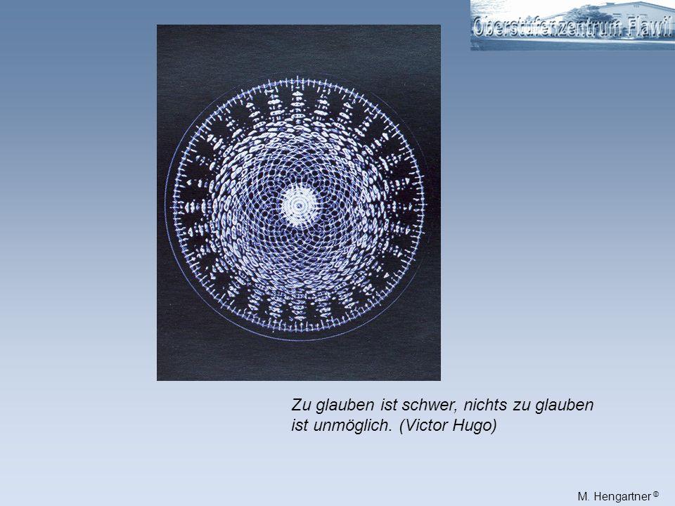 M. Hengartner © Wie gross ist ein solcher Kornkreis? 300m Durchmesser: ca. 300m