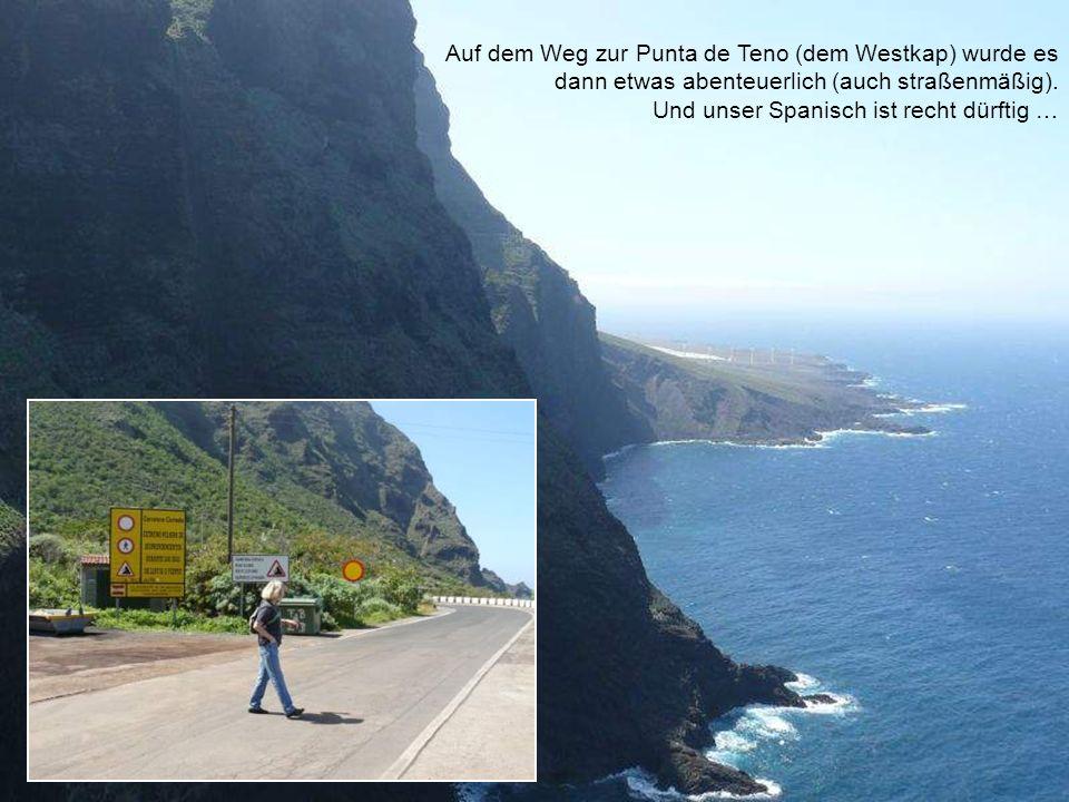 Auf dem Weg zur Punta de Teno (dem Westkap) wurde es dann etwas abenteuerlich (auch straßenmäßig).